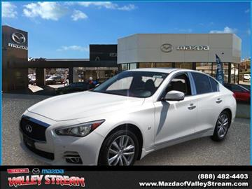 2014 Infiniti Q50 for sale in Valley Stream NY