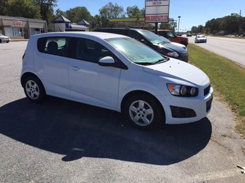2014 Chevrolet Sonic for sale in Anderson, SC