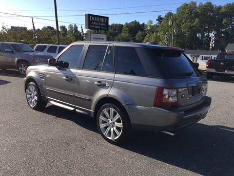 2008 Land Rover Range Rover Sport for sale in Anderson, SC