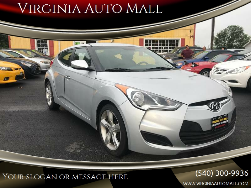 2012 Hyundai Veloster for sale at Virginia Auto Mall in Woodford VA