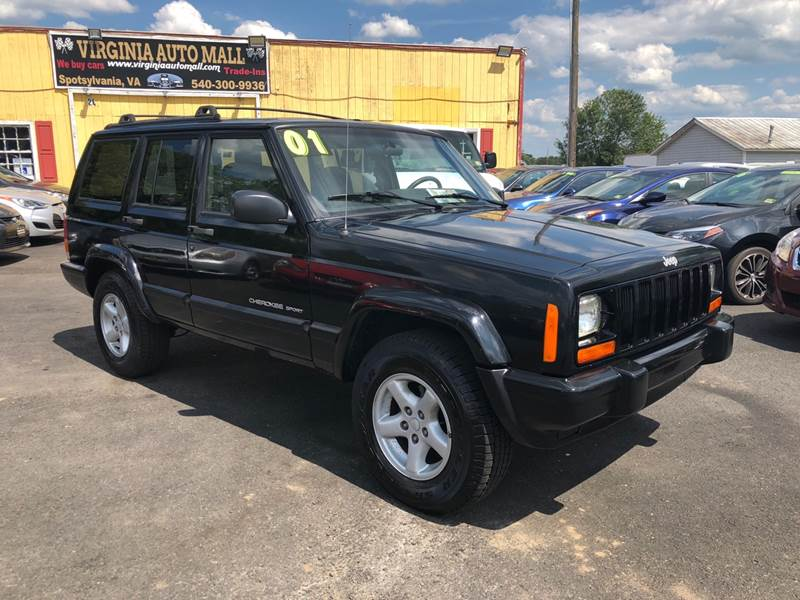 2001 Jeep Cherokee For Sale At Virginia Auto Mall In Woodford VA