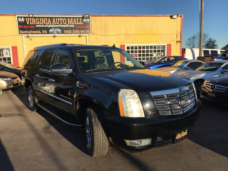 2007 Cadillac Escalade Esv In Woodford Va Virginia Auto Mall