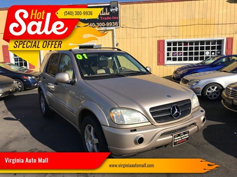 2001 Mercedes-Benz M-Class for sale at Virginia Auto Mall in Woodford VA