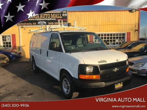 2011 Chevrolet Express Cargo for sale at Virginia Auto Mall in Woodford VA