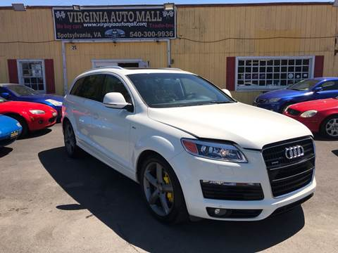 2009 Audi Q7 for sale at Virginia Auto Mall in Woodford VA