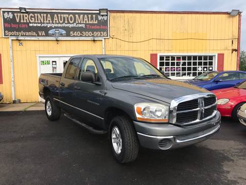 2006 Dodge Ram Pickup 1500 for sale at Virginia Auto Mall in Woodford VA