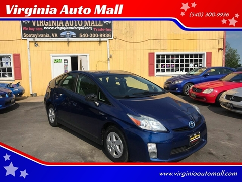 2010 Toyota Prius for sale at Virginia Auto Mall in Woodford VA