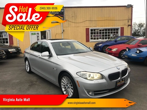 2011 BMW 5 Series for sale at Virginia Auto Mall in Woodford VA