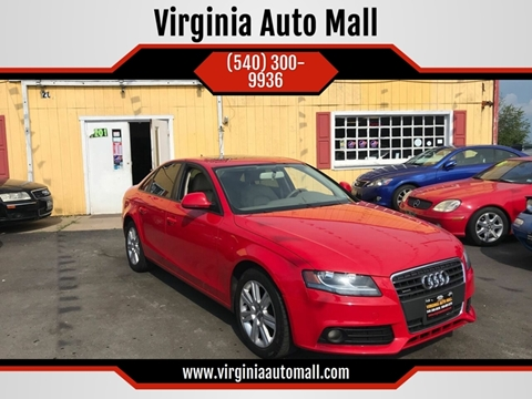 2009 Audi A4 for sale at Virginia Auto Mall in Woodford VA