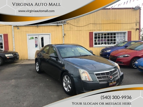 2008 Cadillac CTS for sale at Virginia Auto Mall in Woodford VA