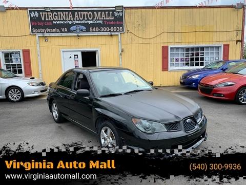 2007 Subaru Impreza for sale at Virginia Auto Mall in Woodford VA