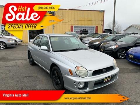 2002 Subaru Impreza for sale at Virginia Auto Mall in Woodford VA