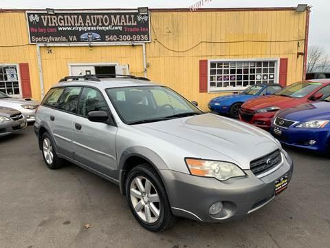 2007 Subaru Outback for sale at Virginia Auto Mall in Woodford VA