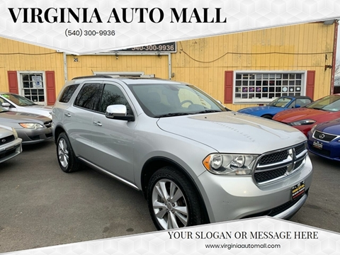 2011 Dodge Durango for sale at Virginia Auto Mall in Woodford VA