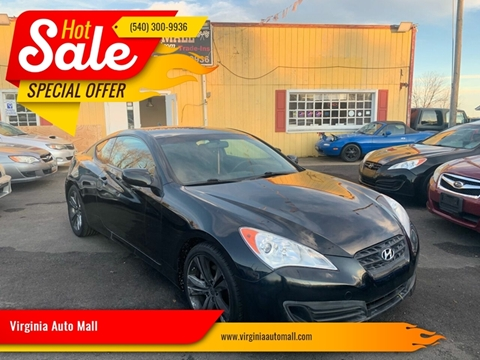 2012 Hyundai Genesis Coupe for sale at Virginia Auto Mall in Woodford VA