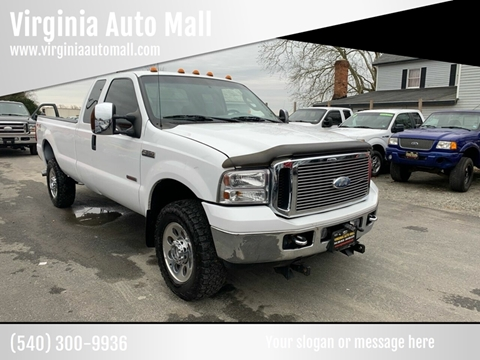2007 Ford F-350 Super Duty for sale at Virginia Auto Mall in Woodford VA