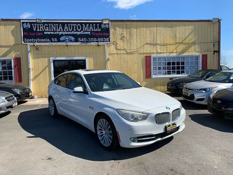 2010 BMW 5 Series for sale at Virginia Auto Mall in Woodford VA