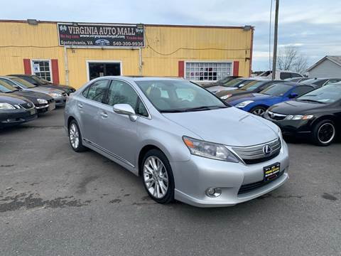 2010 Lexus HS 250h for sale at Virginia Auto Mall in Woodford VA