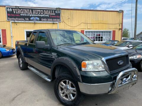 2006 Ford F-150 for sale at Virginia Auto Mall in Woodford VA