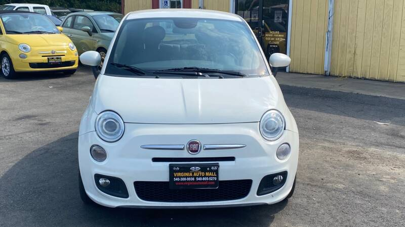 2014 FIAT 500 for sale at Virginia Auto Mall in Woodford VA