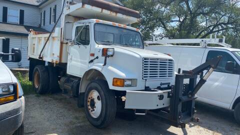 2001 International dump truck for sale at Virginia Auto Mall in Woodford VA
