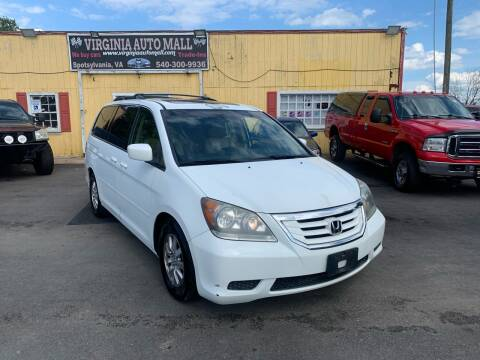 2008 Honda Odyssey for sale at Virginia Auto Mall in Woodford VA