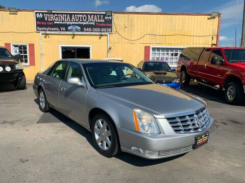 2007 Cadillac DTS for sale at Virginia Auto Mall in Woodford VA