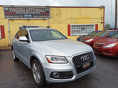 2013 Audi Q5 for sale at Virginia Auto Mall in Woodford VA