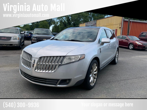 2011 Lincoln MKT for sale at Virginia Auto Mall in Woodford VA