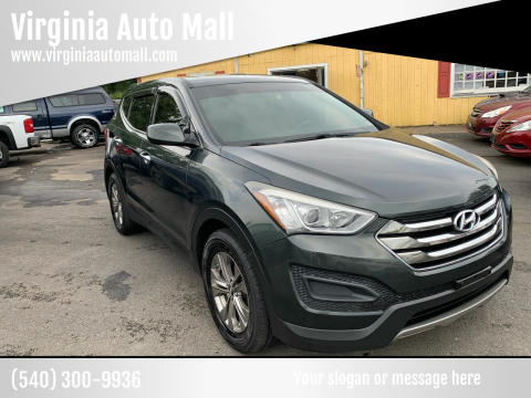 2014 Hyundai Santa Fe Sport for sale at Virginia Auto Mall in Woodford VA