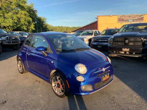 2012 FIAT 500 for sale at Virginia Auto Mall in Woodford VA