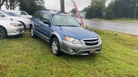 2009 Subaru Outback for sale at Virginia Auto Mall in Woodford VA
