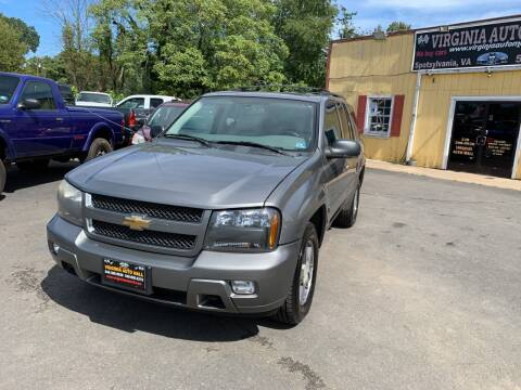 2007 Chevrolet TrailBlazer for sale at Virginia Auto Mall in Woodford VA
