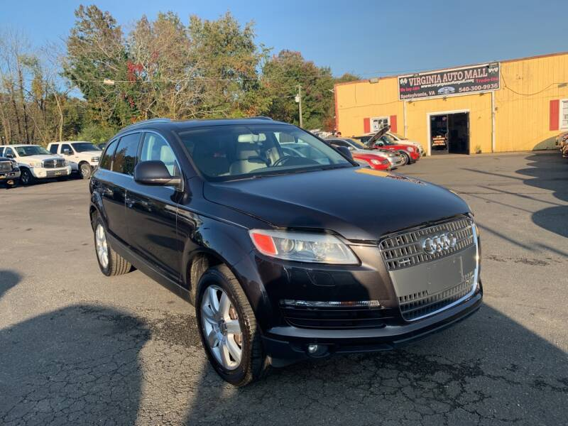 2008 Audi Q7 for sale at Virginia Auto Mall in Woodford VA