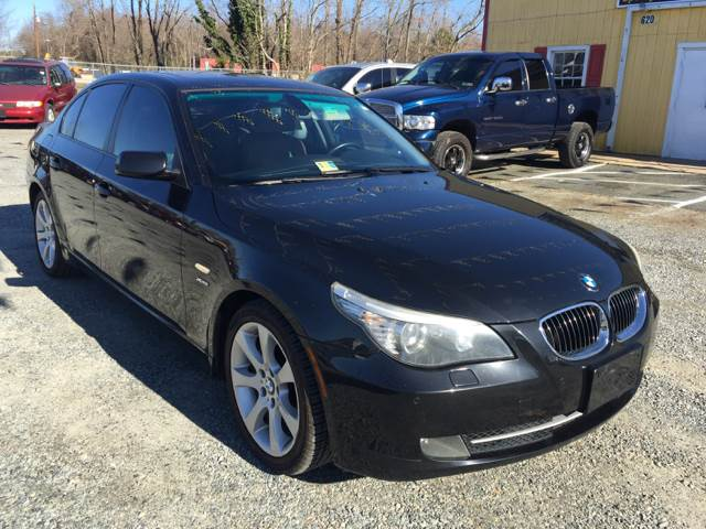 2009 BMW 5 Series For Sale At Virginia Auto Mall In Woodford VA