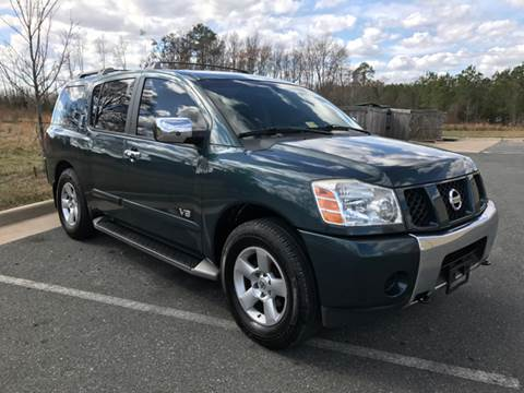 2005 Nissan Armada for sale at Virginia Auto Mall in Woodford VA