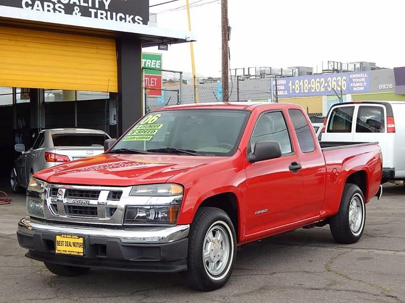 2006 Isuzu i-Series for sale at Best Deal Motors - Used Cars ,and Trucks for sale in Sun Valley,  Los Angeles CA
