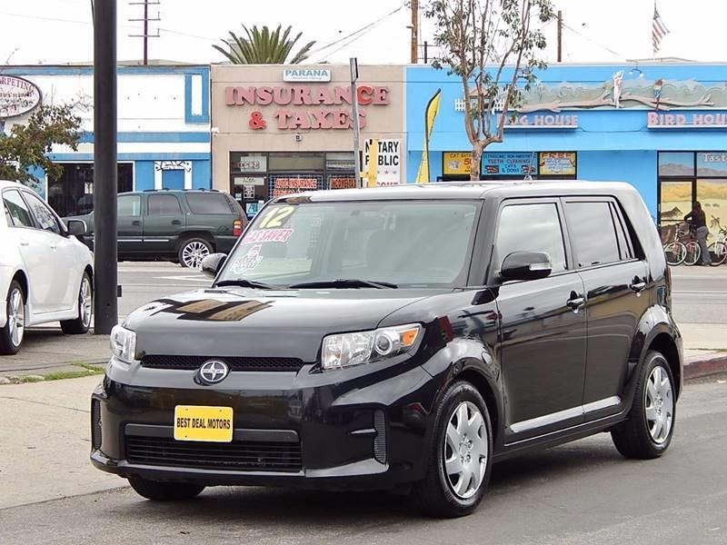 2012 Scion xB for sale at Best Deal Motors - Used Cars ,and Trucks for sale in Sun Valley,  Los Angeles CA