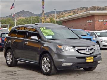 2007 Acura MDX for sale at Best Deal Motors - Used Cars ,and Trucks for sale in Sun Valley,  Los Angeles CA