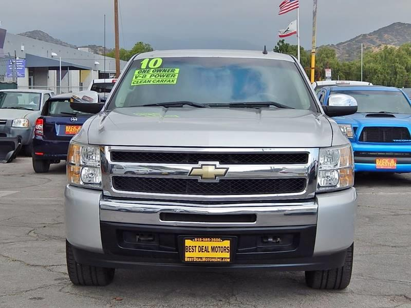 2010 Chevrolet Silverado 1500 for sale at Best Deal Motors - Used Cars ,and Trucks for sale in Sun Valley,  Los Angeles CA