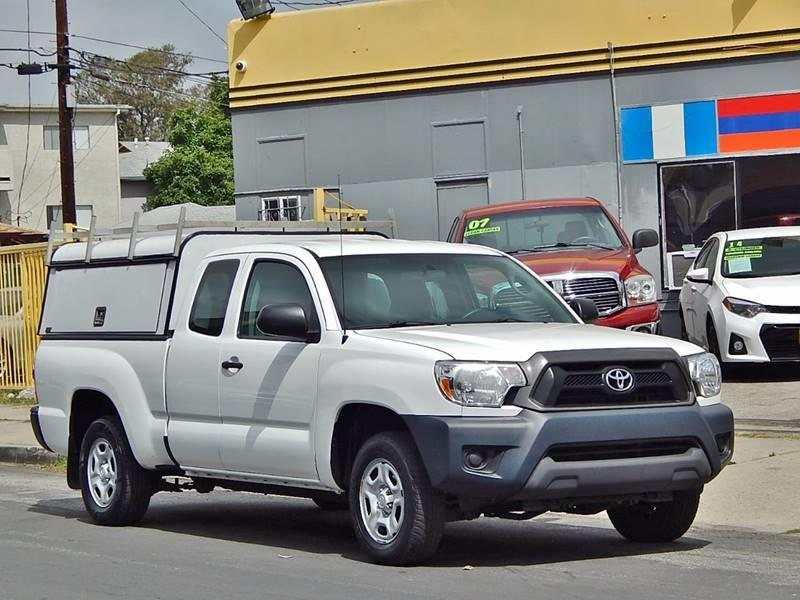 2015 Toyota Tacoma for sale at Best Deal Motors - Used Cars ,and Trucks for sale in Sun Valley,  Los Angeles CA