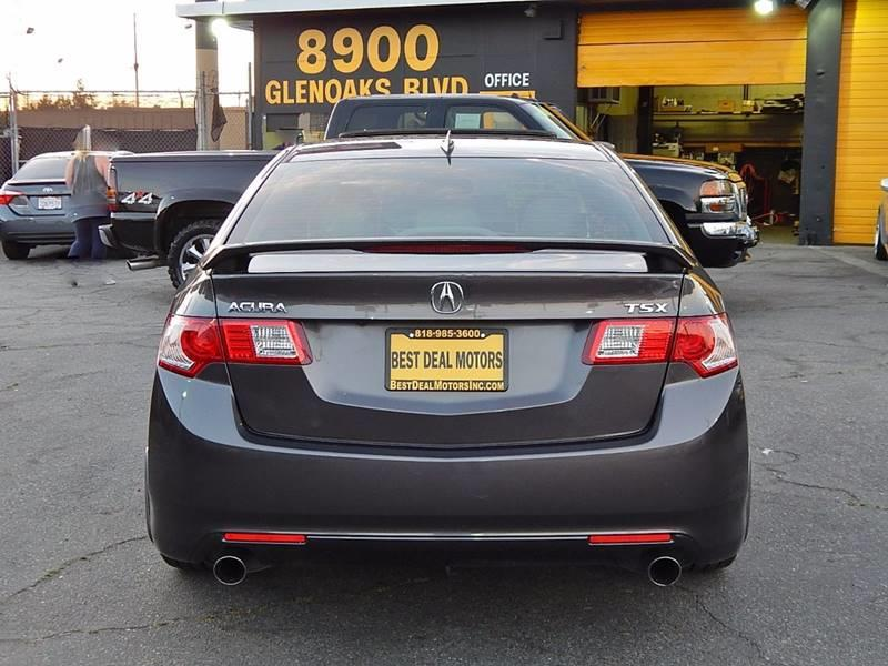 2009 Acura TSX for sale at Best Deal Motors - Used Cars and Trucks for sale in Sun Valley,  Los Angeles CA