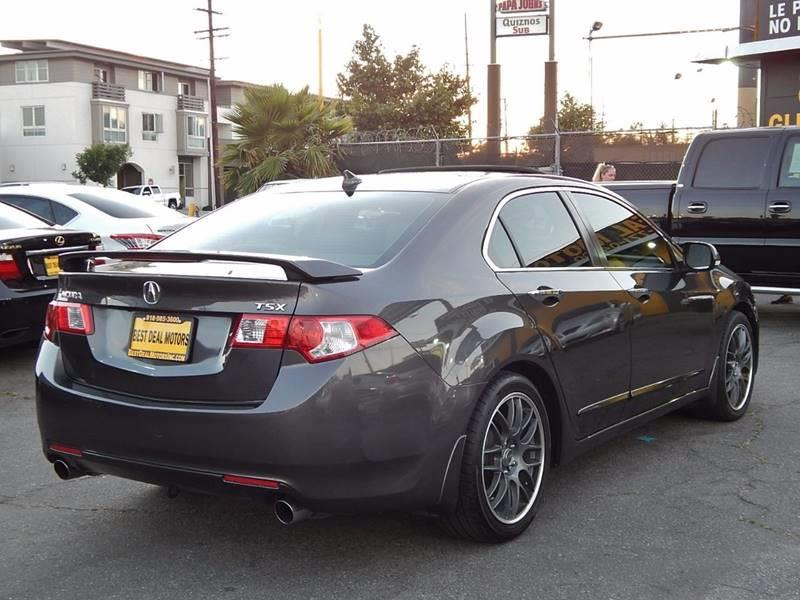 2009 Acura TSX for sale at Best Deal Motors - Used Cars ,and Trucks for sale in Sun Valley,  Los Angeles CA