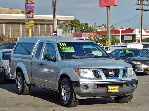 2010 Nissan Frontier for sale at Best Deal Motors - Used Cars ,and Trucks for sale in Sun Valley,  Los Angeles CA