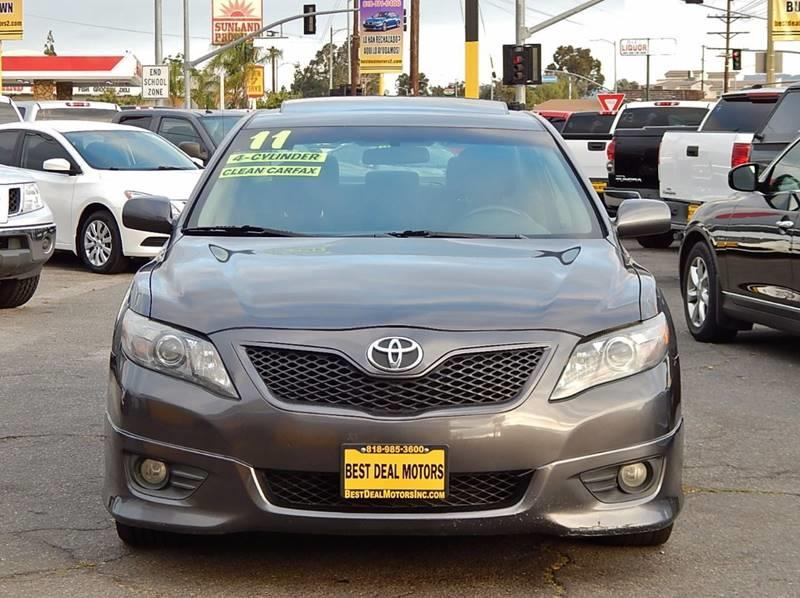 2011 Toyota Camry for sale at Best Deal Motors - Used Cars ,and Trucks for sale in Sun Valley,  Los Angeles CA