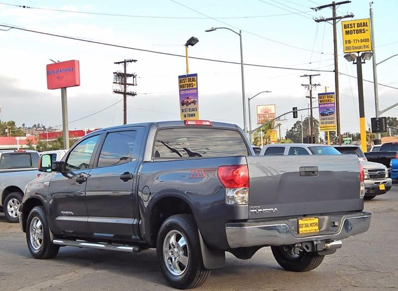 2008 Toyota Tundra for sale at Best Deal Motors - Used Cars ,and Trucks for sale in Sun Valley,  Los Angeles CA