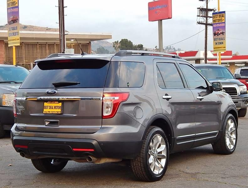 2012 Ford Explorer for sale at Best Deal Motors - Used Cars ,and Trucks for sale in Sun Valley,  Los Angeles CA
