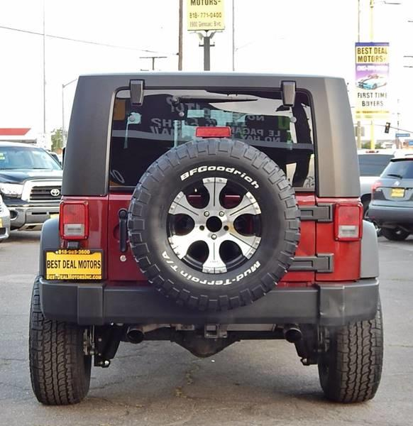 2008 Jeep Wrangler for sale at Best Deal Motors - Used Cars and Trucks for sale in Sun Valley,  Los Angeles CA