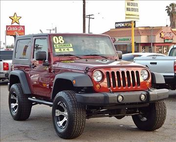 2008 Jeep Wrangler for sale at Best Deal Motors - Used Cars ,and Trucks for sale in Sun Valley,  Los Angeles CA
