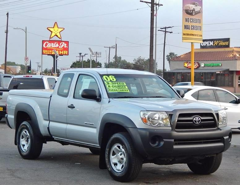 2006 Toyota Tacoma for sale at Best Deal Motors - Used Cars ,and Trucks for sale in Sun Valley,  Los Angeles CA